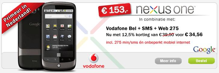 belsimpel-nl-google-nexus-one-aanbieding