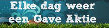 aanbieding van de dag van gaveaktie.nl