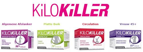 Afslanken met de kilokiller producten