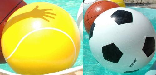 Reuze opblaasbare bal
