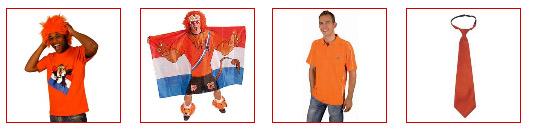 Oranje artikelen en kleding