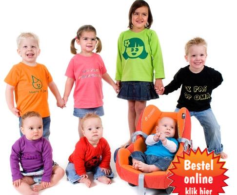 Bedrukte kinderkleding & bedrukte babykleding