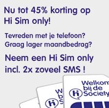 Hi sim only