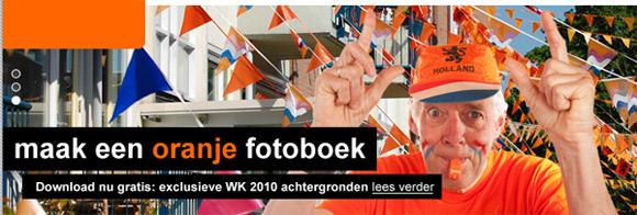 Maak je eigen WK oranje fotoboek