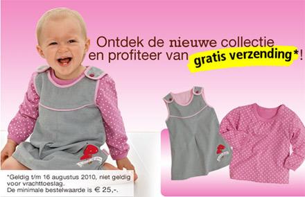 Geen verzendkosten bij BabyButt