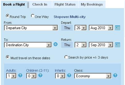 Actie tarieven bij Singapore airlines