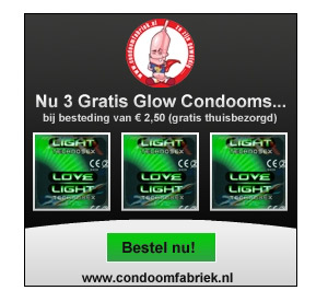 Gratis glow condooms