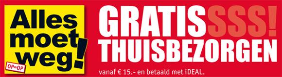 Gratis verzending bij Kijkshop.nl