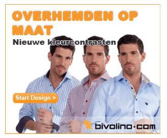 15% korting op overhemden van Bivolina
