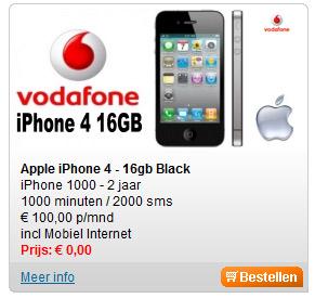 Gratis iPhone 4