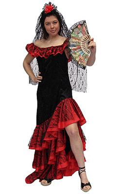 Flamenco carnavalsjurk
