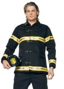 Carnavalspak brandweerman