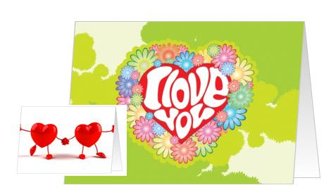 Maak je eigen valentijn kaart