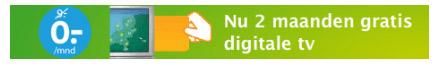 Twee maanden gratis Digitenne bij KPN.com