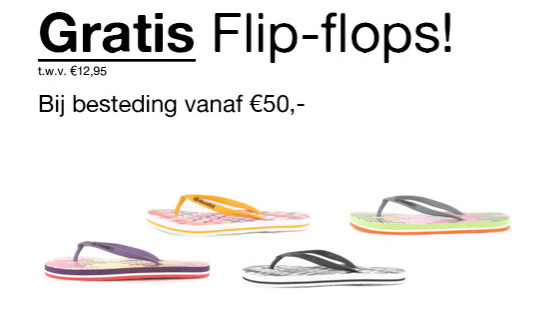 Gratis slippers