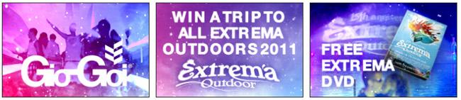 Win kaarten inclusief reis voor extrema outdoor