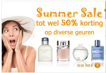 geuren en parfums met kortingen tot wel 50%