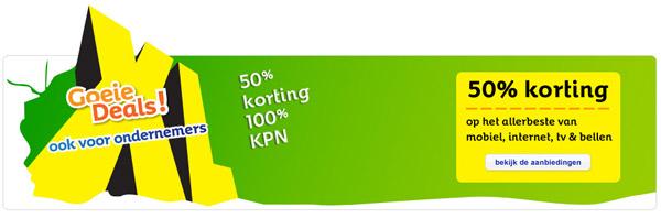 Aantrekkelijke aanbiedingen van KPN.com