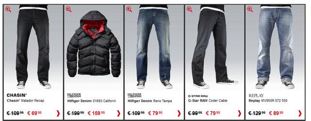 Goedkope merk jeans en meer