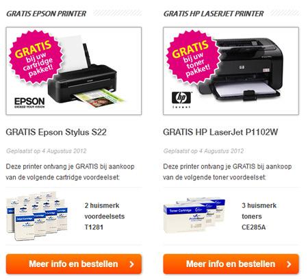 gratis printer
